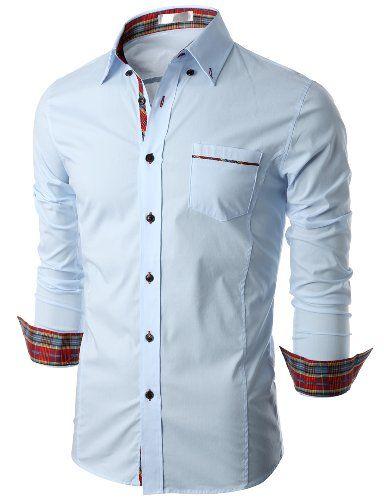 Doublju Mens Long Sleeve Button Down Dress Shirt SKYBLUE (US-M) Doublju,http://www.amazon.com/dp/B00ID3K1HS/ref=cm_sw_r_pi_dp_Wy5ytb1Z77C2JZ68