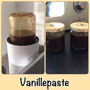 Rezept Nr. 1 von Ikors Blog und von Birte Ri auf Kenwood umgewandelt, Foto von Birte Ri 1. Rezept Zutaten: 250g Zucker 120g Wasser 10-12 Vanilleschoten Zubereitung: Mit Flexi Intervallstufe 2 ca. 8min erwärmen. Danach im Blender gut mixen. Ergibt ca. 3x 125g Gläser Geringere Mengen können auch in der Gewürzmühle gemixt werden. Auf dem … Vanillepaste – Variationen weiterlesen →