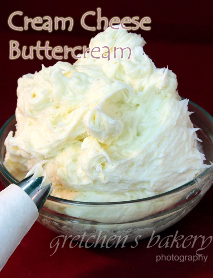 Cream Cheese Buttercream Icing easily made into Chocolate~ White Chocolate~ or any other flavor you can think of! Prefect consistency!!