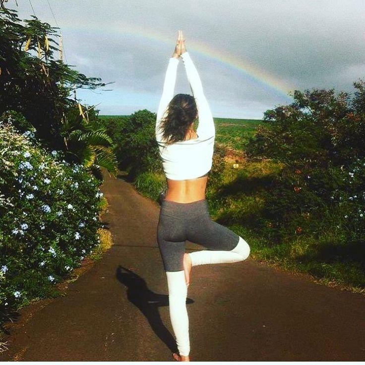 The Alo Yoga Goddess Legging #yoga #yogainspiration