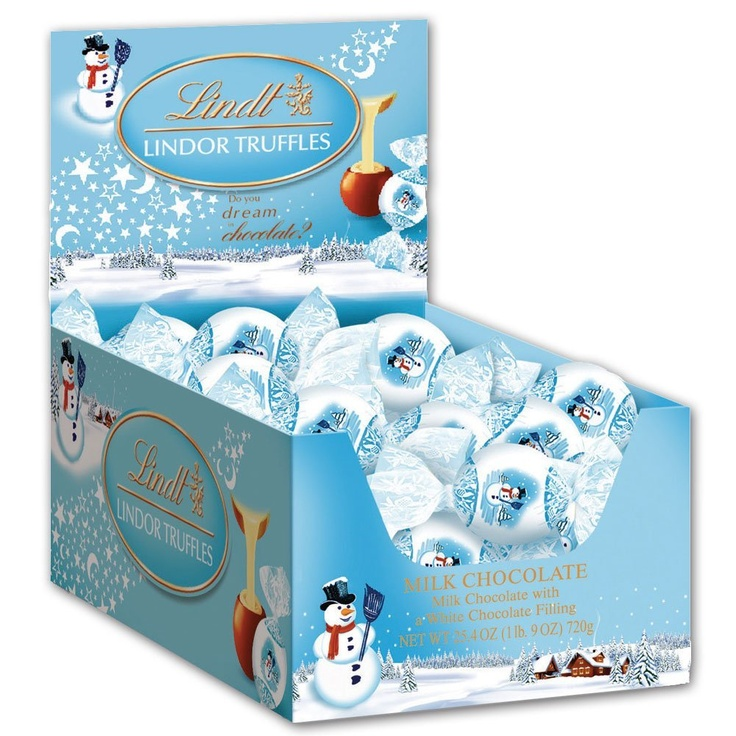 Lindt Lindoor Milk Chocolate with White Chocolate Truffles
