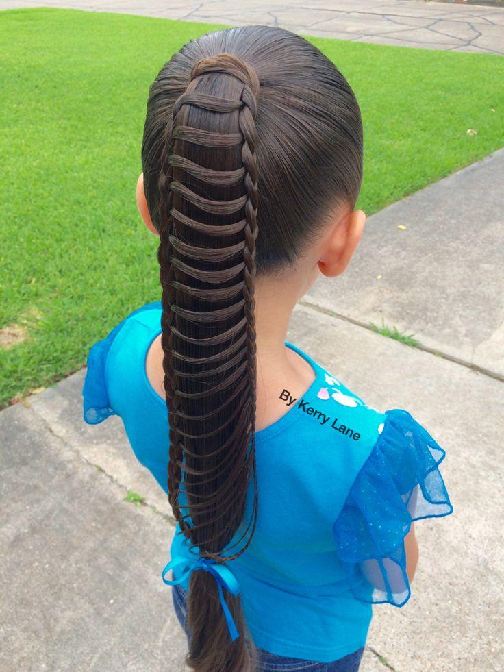Ladder Braid  Learn Do Teach Hairstyles  Braided hairstyles Braids Glamour hair