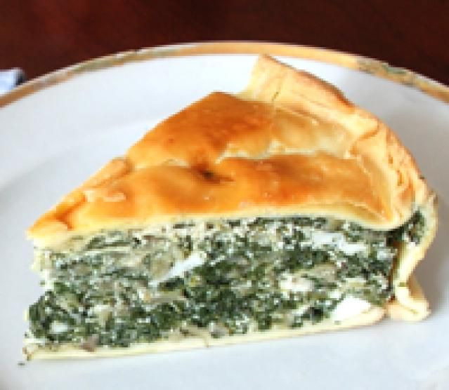 Torta Pascualina - Spinach and Ricotta Tart Argentinian Easter tradition
