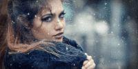 Snow Scene Photoshop Animation #realisticsnow #animatedsnow #animatedgif