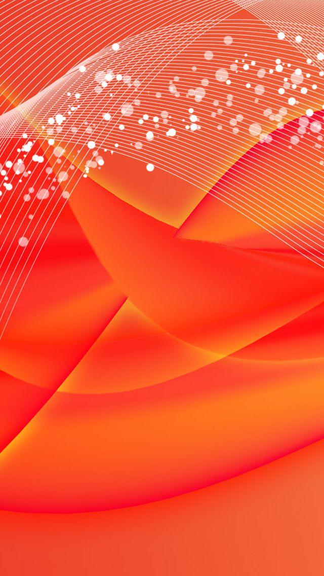 Orange Pink Abstract Glow iPhone Wallpaper Orange Pink Abstract Glow iPhone Wallpaper