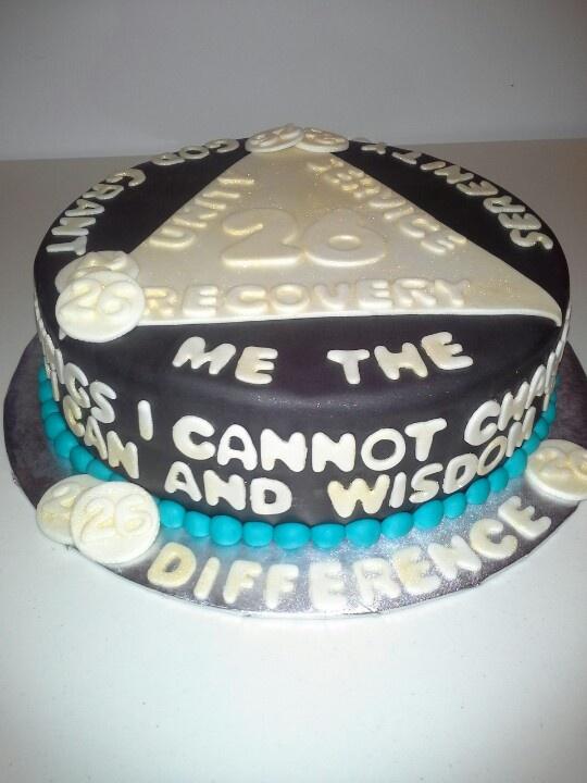Sobriety Birthday Cakes
