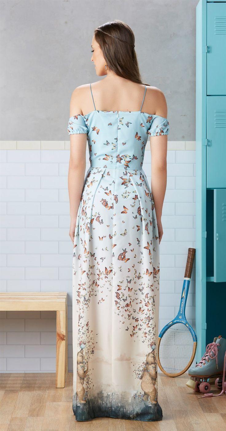 Só na Antix Store você encontra Vestido Longo Arremesso de Peso com exclusividade na internet