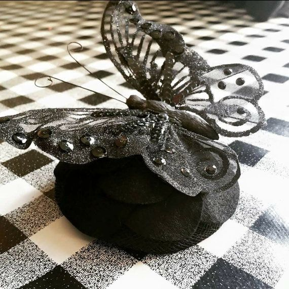 Check out this item in my Etsy shop https://www.etsy.com/uk/listing/268482676/large-butterfly-fascinator