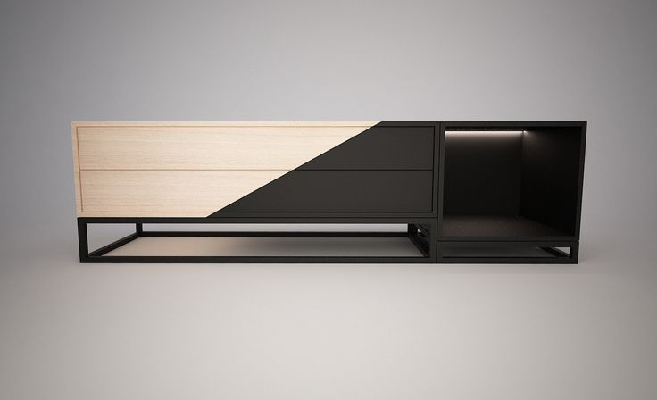 "Bekijk dit @Behance-project: ""Black Tv unit"" https://www.behance.net/gallery/40411375/Black-Tv-unit"