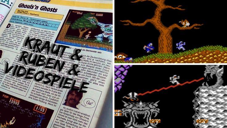 Sehr genialer YouTube Kanal, wo nicht nur C64 Spiele vorgestellt werden. :) Kraut & Rüben & Videospiele 55 - Ghouls`n`Ghosts (C64). Sorry hin und wieder mach ich Fehler in den Texten, korrigiere sie dann aber später. :)