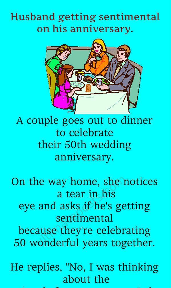 Husband Getting Sentimental On His Anniversary Sentimental Husband Anniversary