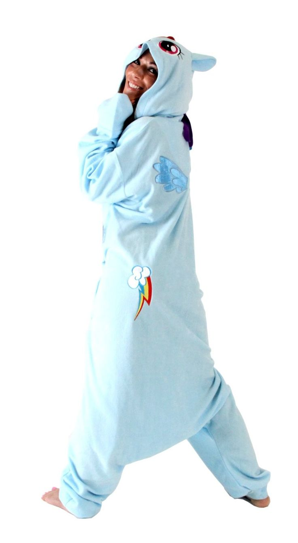 An awesome onesie pajamas - 1 2