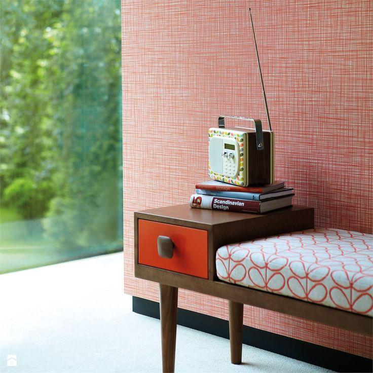 Tapeta, kolekcja Orla Kiely. - zdjęcie od Impresje Home Collection - Hol / Przedpokój - Styl Vintage - Impresje Home Collection