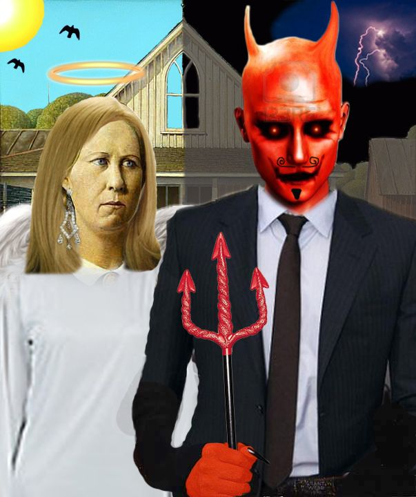 The 418 Best Art Parody American Gothic Redux Images On Pinterest