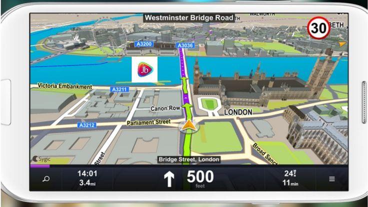 GPS Navigation & Maps: Sygic 17.3.9 FULL