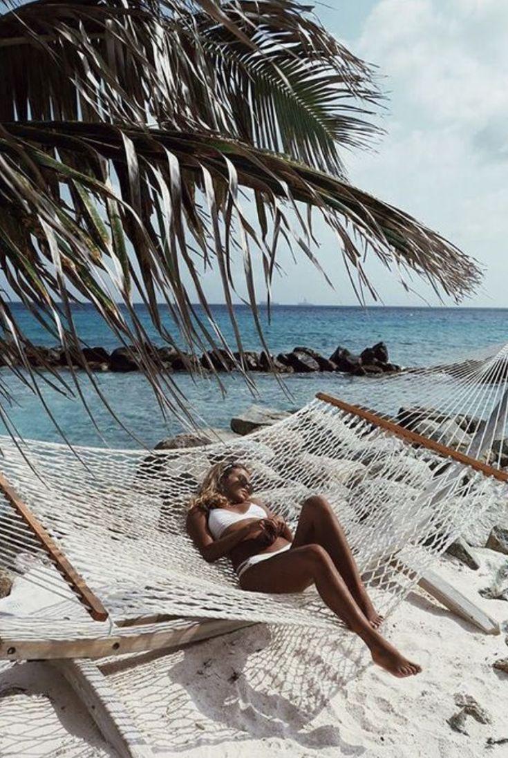 white bikinis + hammocks   hawaii aesthetic   #paradise ...