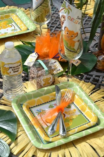 Hostess with the Mostess® - Baby Simba Baby Shower