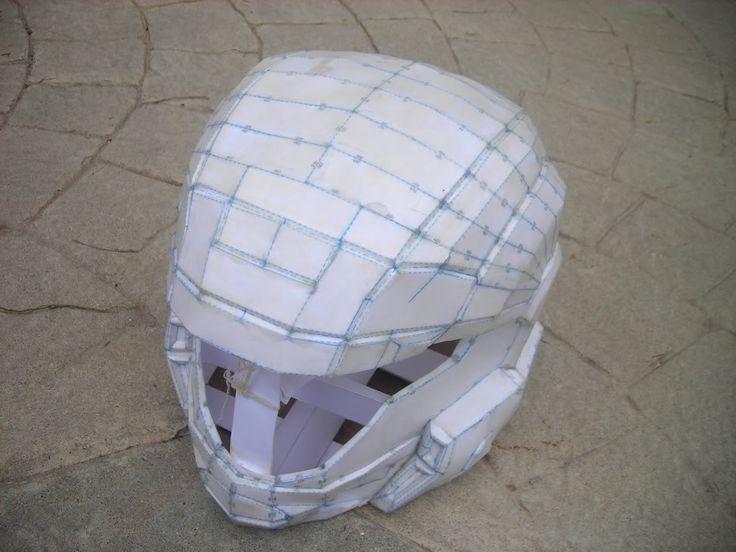Pepakura Paper Modeling For Cosplay Armor Resources