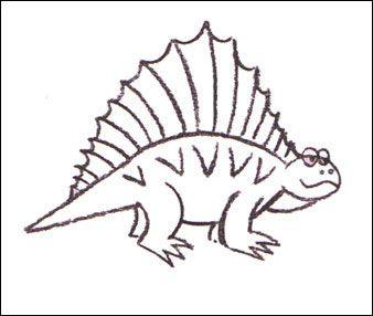 dimetrodon draw with me