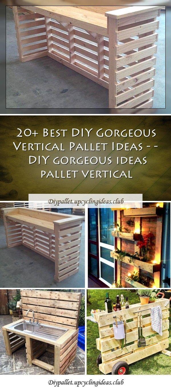 Best Diy Gorgeous Vertical Pallet Ideas