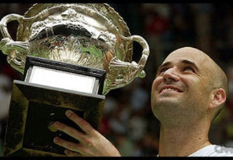 Andre Agassi (Australian Open 2003). *Birthday 29 April (1970)* http://en.wikipedia.org/wiki/Andre_Agassi