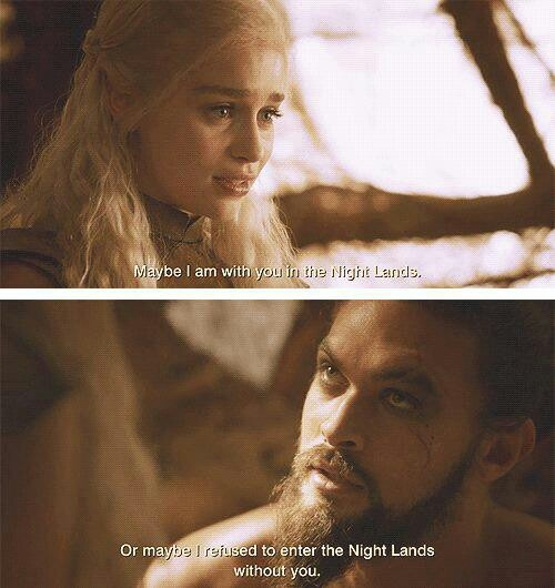 Game of thrones khal drogo and daenerys fanfiction