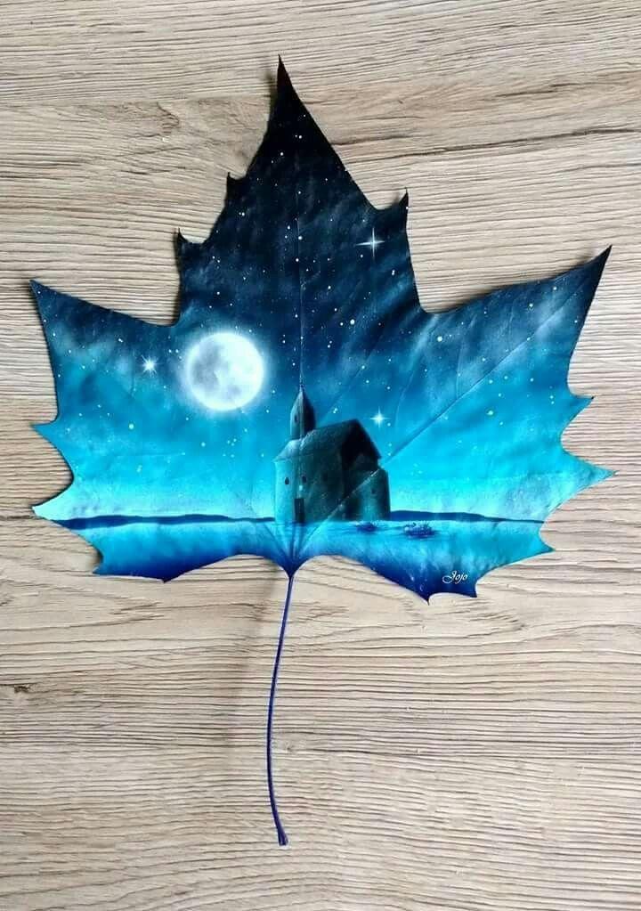 рисунки на листьях клена картинки мать, отец ларисы