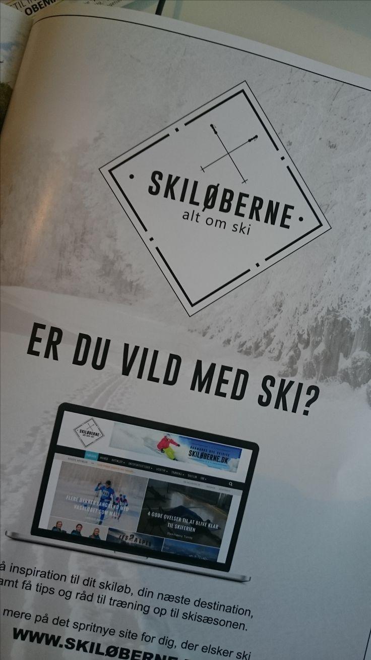 Logo til nyt site: Skiløberne.dk