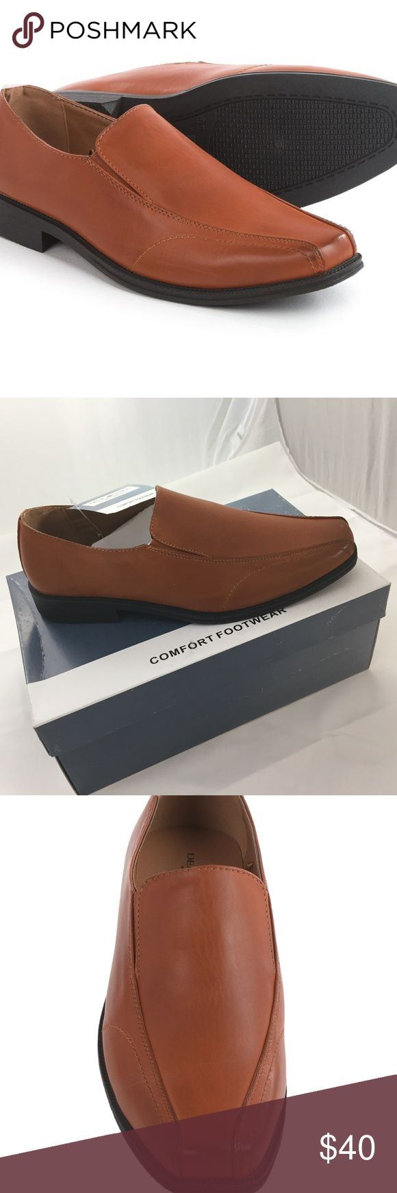 Mens Deer Stag Extra Comfort Shoes Brown 10.5 NEW NEW in BOX ~ Brown Deer Stags Lansing 902 Mens Extra Comfort Shoes ~ Men's Size 10.5 ~ Slip-On Loafers ~ Casual Dress OR Dress Shoes ~ Easygoing Style to your dressed up look ~ 902 Collection Boasts Extra Comfort Features ~ Tonal Stitching Details ~ Side Elastic Gores for a Secure and comfortable fit ~ Cushioned EVA Footbed Deer Stags Shoes Loafers & Slip-Ons