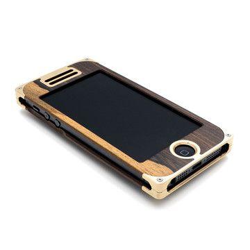 EXOvault: EXO16 iPhone 5 Brass Zircote