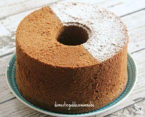 Coffee Chiffon Cake