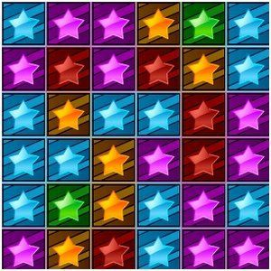 Match Star is a matching game. You need to collapse all of the blocks by clicking groups of horizontally or vertically connected same color blocks. With each block you collapse you will get a score. The bigger the group is, the higher score you will get. The status on the bottom will show you the projected score.