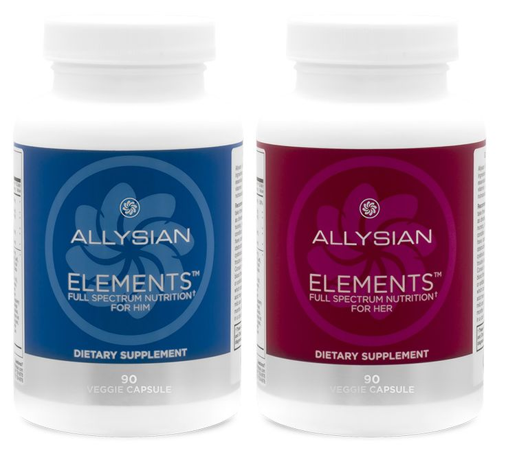 ELEMENTS - The foundations of health - Allysian Sciences - REDEFINE POSSIBLE.™