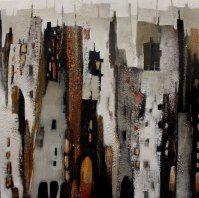 Abstrakte Malerei – Claudia Lange