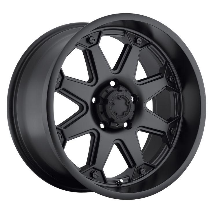 Ultra Wheels 198 Bolt Satin Black