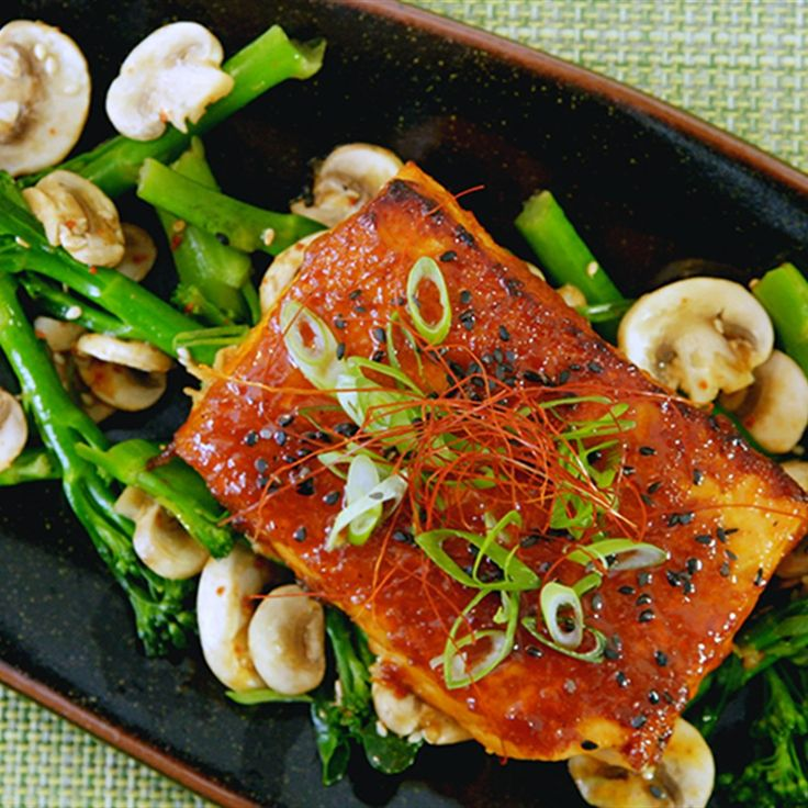 18 best korean food made simple images on pinterest korean food gochujang glazed salmon easy salmon recipessimple recipesseafood recipeskorean forumfinder Images