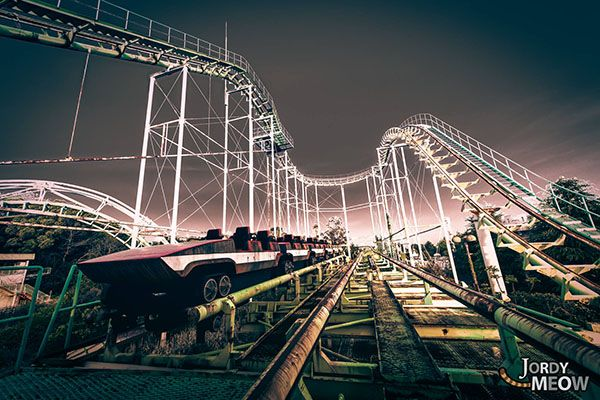 Le parc d'attraction abandonné de Nara Dreamland - OpenmindedOpenminded