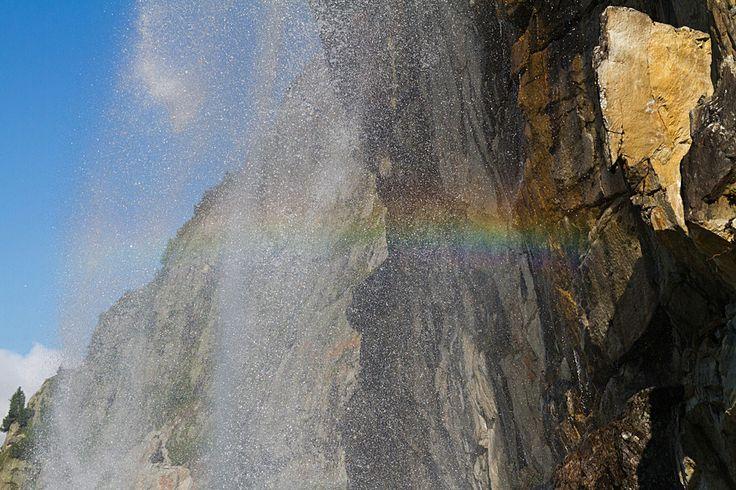 #arcobaleno #cascata #primavera in #Valtellina