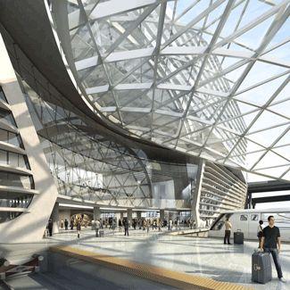 Denver International Airport   Architectural Renderings