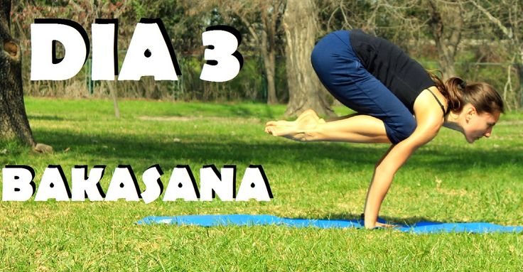 Elena Malova: Día 3 - Bakasana Yoga Challenge #malovayogachallenge1