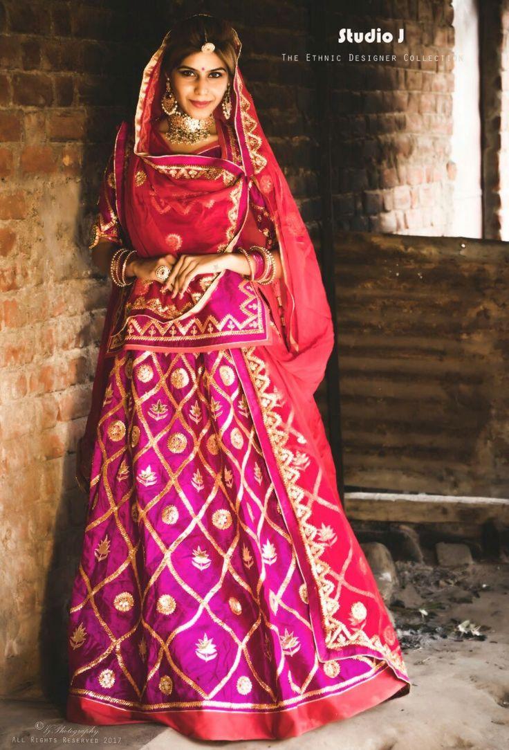 Rajputi poshak#lengha#style#