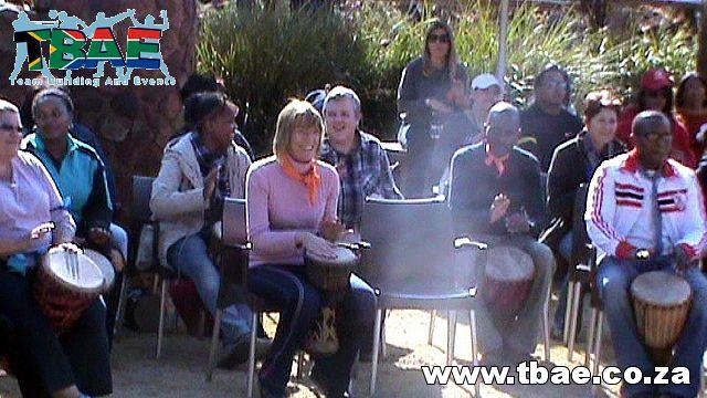 Outdoor Team Building #FNB #Drumming #TeamBuilding