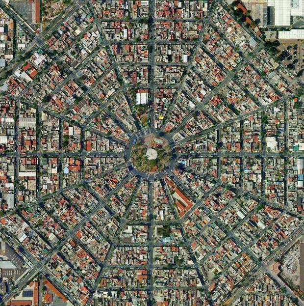 Morfología del paisaje en la Ciudad de #México | #arquitectura