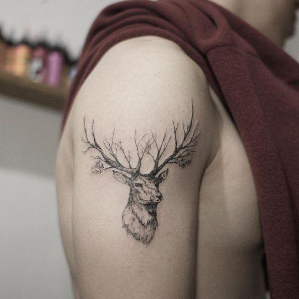 Die besten Deer Tattoo Ideen aller Zeiten