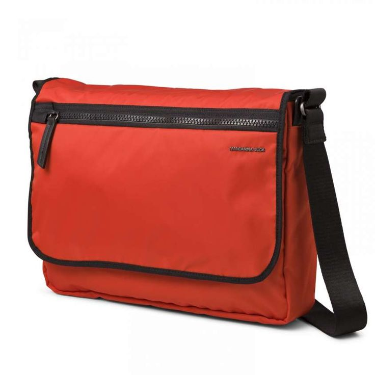 Collezione borse Mandarina Duck Primavera Estate 2015 - Messenger orange