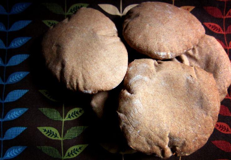Life Blessons: Homemade Whole Wheat Pita Bread Recipe