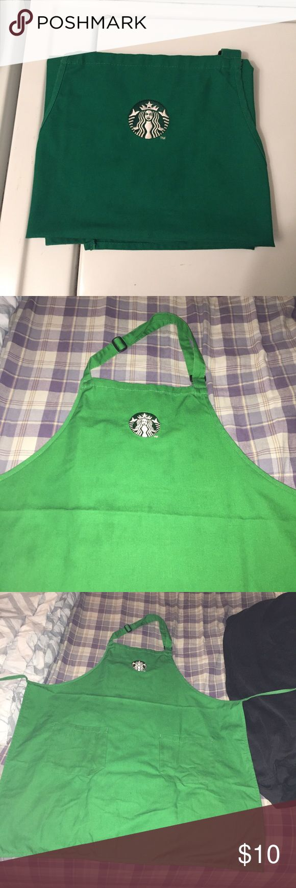 Authentic Starbucks apron Authentic Starbucks green apron! I've worn them for work but they're in good condition ☕️ Starbucks Other