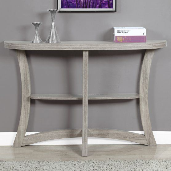 Monarch Specialties Half Moon Console Table
