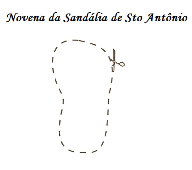 Bruxas do Amor: Novena da Sandália de Santo Antonio (Anjo)