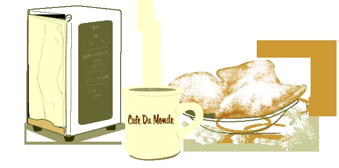 Welcome to Cafe Du Monde
